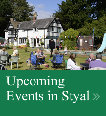 Upcoming Events in Styal